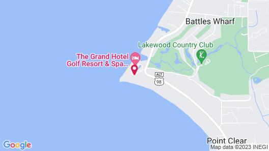 Grand Hotel Golf Resort & Spa Map