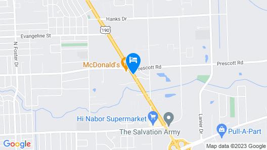 Paradise Inn & Suites Map