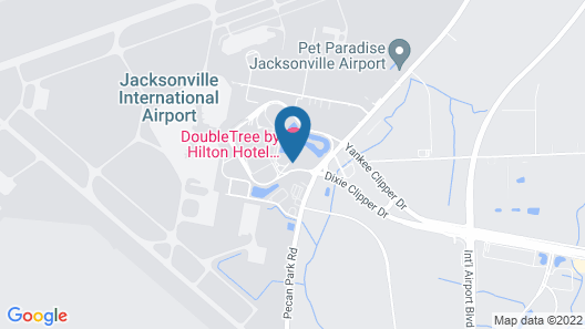 DoubleTree by Hilton Hotel Jacksonville Airport Map
