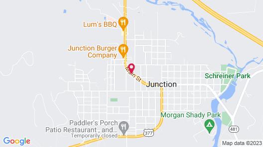 Sun Valley Motel Map