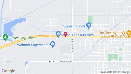 Holiday Inn Express Eunice, an IHG Hotel Map