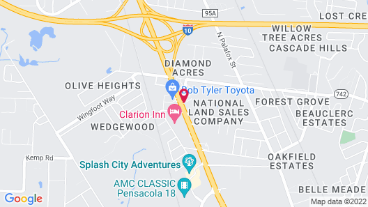 Sweet Dream Inn Map