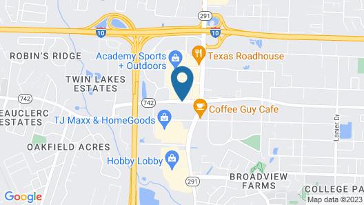 SpringHill Suites Pensacola Map