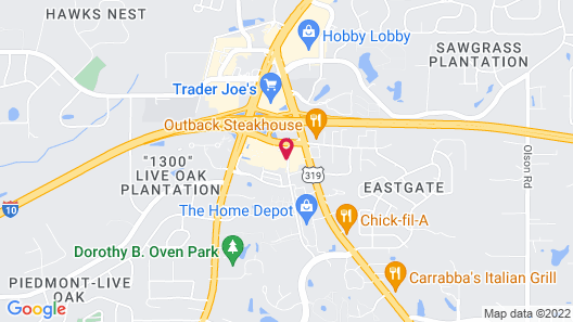 Hampton Inn & Suites Tallahassee I-10-Thomasville Rd Map