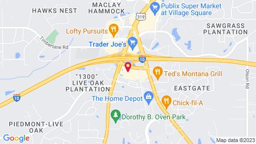 Hilton Garden Inn Tallahassee Map