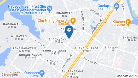 Citadines Zhuankou Wuhan Map