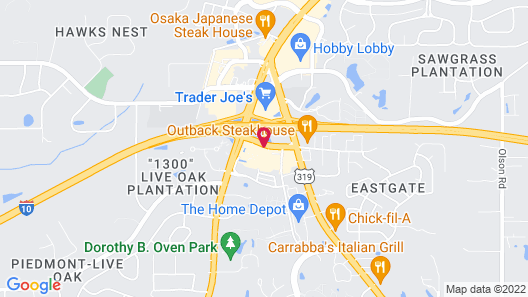 Holiday Inn Express Tallahassee - I-10 E, an IHG Hotel Map