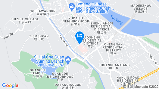 Pod Inn Map