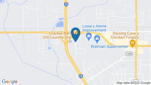 Hampton Inn Hammond Map