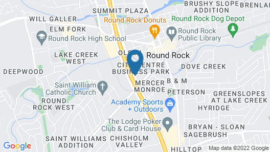 Extended Stay America Austin - Round Rock - North Map