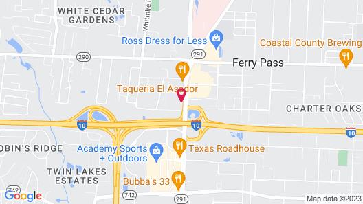 Holiday Inn Pensacola - University Area, an IHG Hotel Map
