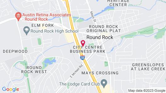 Candlewood Suites Austin-Round Rock, an IHG Hotel Map