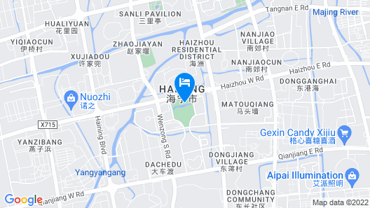 Langham Place, Haining Map