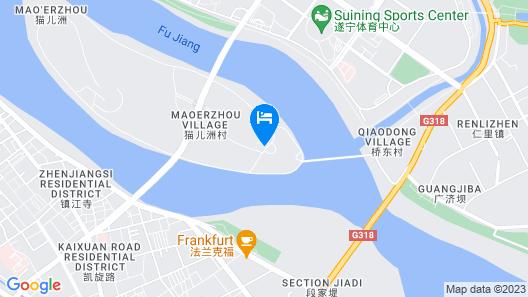 Suining Marriott Hotel Map