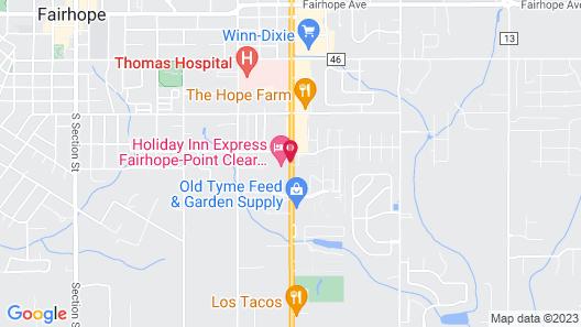 Holiday Inn Express Fairhope, an IHG Hotel Map