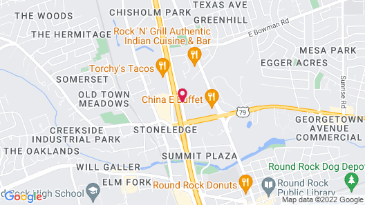 Wingate by Wyndham - Round Rock Map