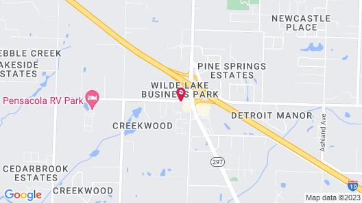 Red Roof Inn Pensacola Fairgrounds Map
