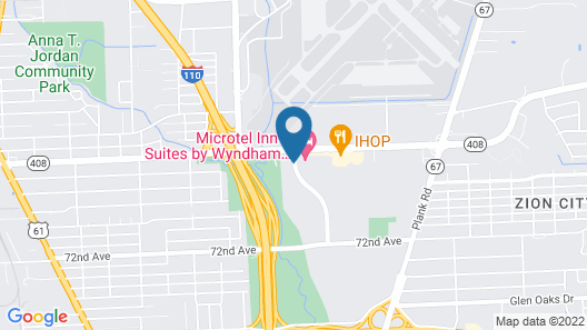 Hilton Garden Inn Baton Rouge Airport Map