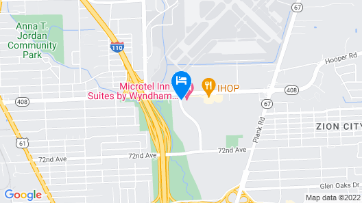 Microtel Inn & Suites by Wyndham Baton Rouge Airport Map