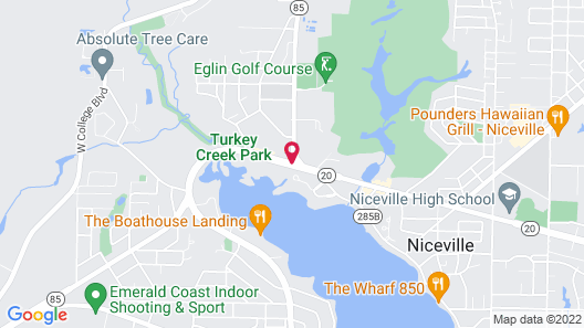 Quality Inn At Eglin AFB Map