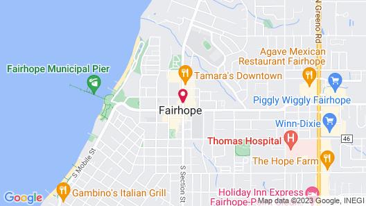 Hampton Inn Fairhope-Mobile Bay Map