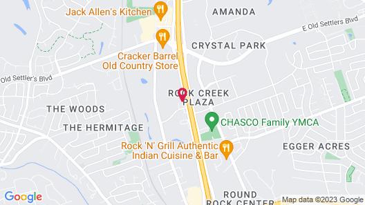 La Quinta Inn & Suites by Wyndham Round Rock North Map