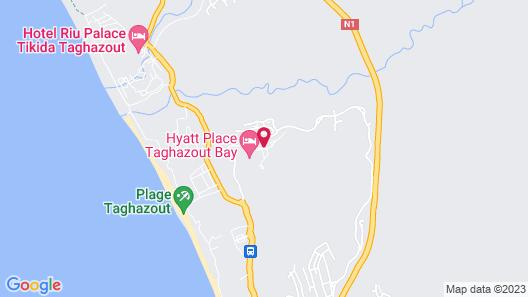 Hyatt Place Taghazout Bay Map