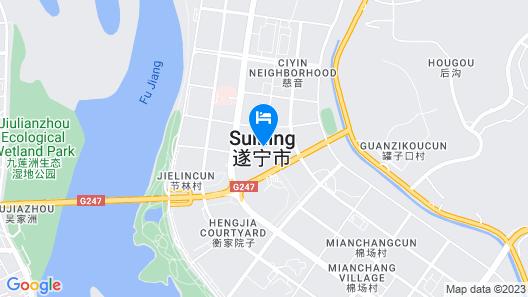 Panda Prince Hotel Suining Branch Map