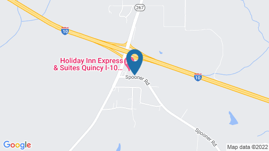 Hampton Inn Quincy Map