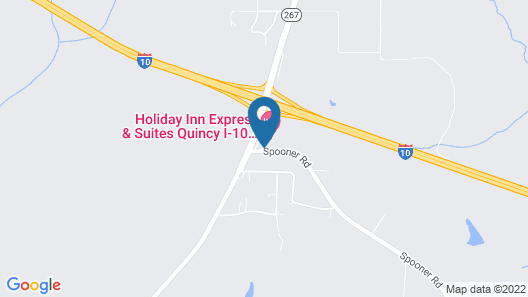 Holiday Inn Express Hotel & Suites Quincy I-10, an IHG Hotel Map