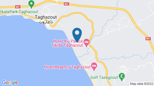 Sol House Taghazout Bay - Surf Map