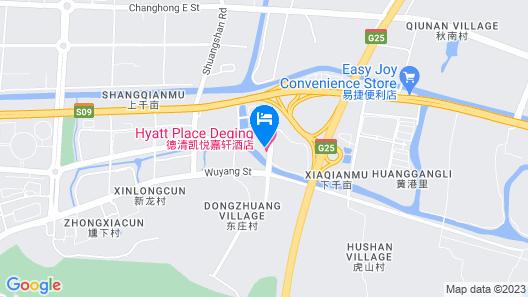 Hyatt Place Deqing Map