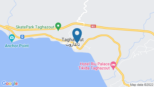 Taghazout Surf Dream - Hostel Map