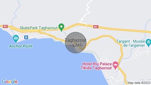 Villa Agadir Taghazout With Pool Map