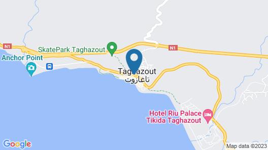 Aloha Surf Camp Maroc Map