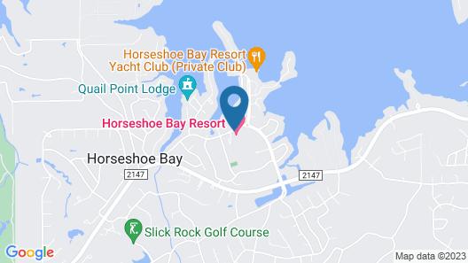 Horseshoe Bay Resort Map