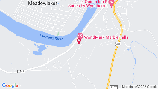 WorldMark Marble Falls Map