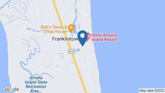 Omni Amelia Island Resort Map