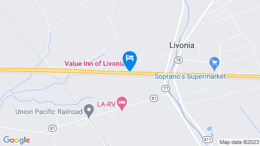 Travelodge by Wyndham Livonia Map