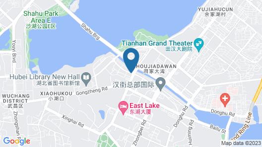 Wuhan Sloth Hotel Map