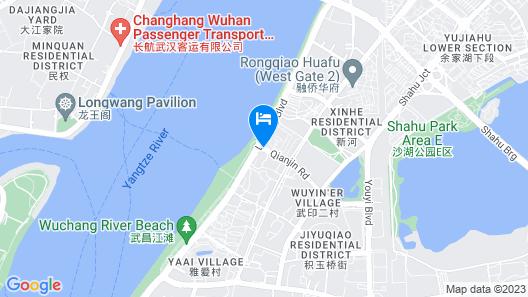 The Westin Wuhan Wuchang Map