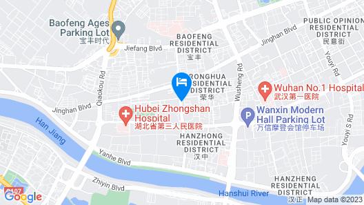 Somerset Wusheng Wuhan Map