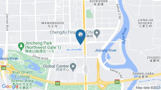 Chengdu Marriott Hotel Financial Centre Map