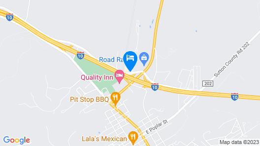 Motel 6 Sonora, TX Map