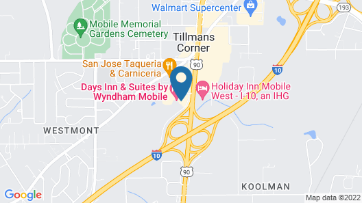 Days Inn & Suites by Wyndham Mobile Map