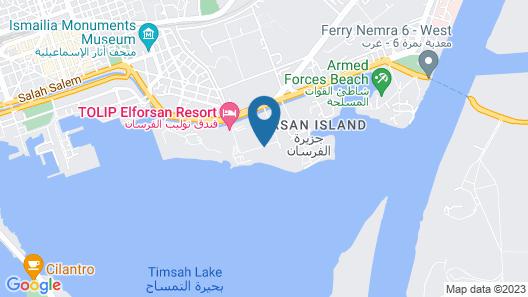 Tolip El Forsan Hotel Map