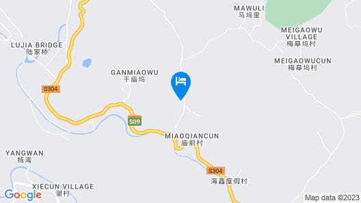Qiansu Moganshan Huajianji Guesthouse Map