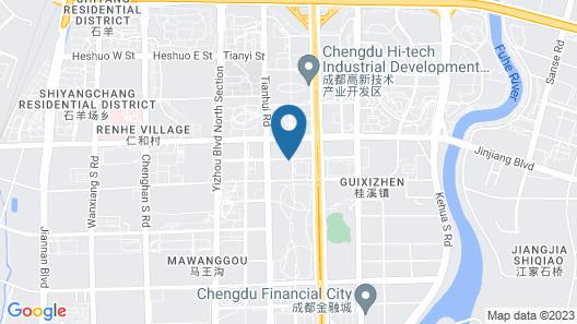 Waldorf Astoria Chengdu Map