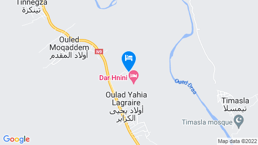 Dar Hnini Map