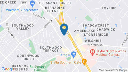 Microtel Inn & Suites by Wyndham College Station Map